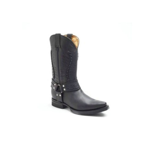 Galveston Black Leather Cowboy Boot.jpg
