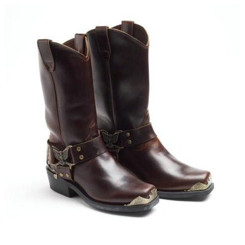 Ladies Grinder Eagle Hi Brown Leather.jpg