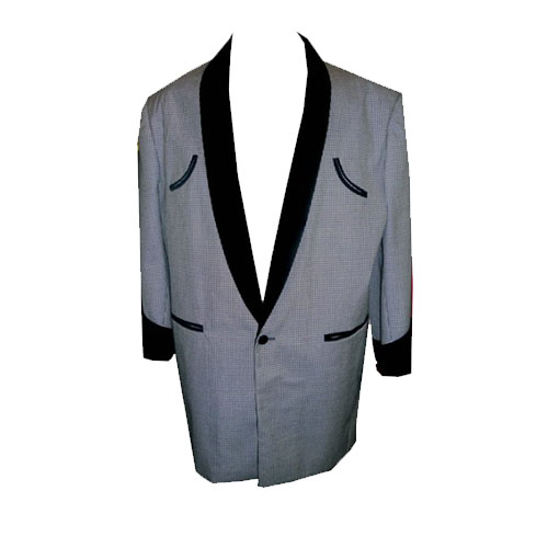 Skye Black White Dogtooth Drape Jacket.jpg
