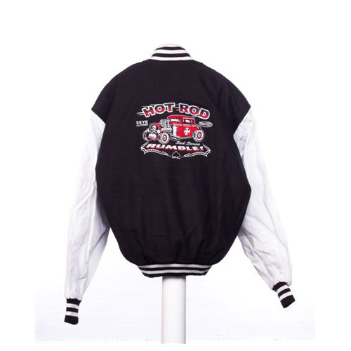 Vince Ray Skye Design 1 Baseball Jacket Black White.jpg