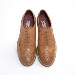 Ladies New Brogue Shoes Tan.jpg