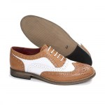 Ladies New Brogue Tan White.jpg